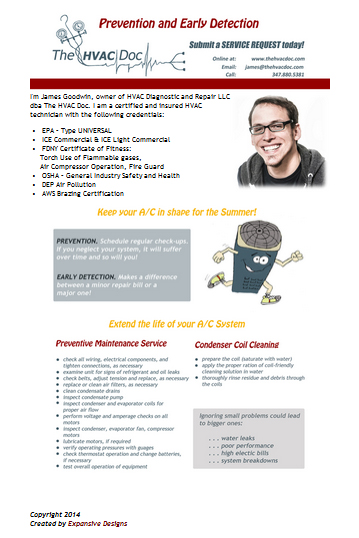 The HVAC Doc Email Marking Campaign